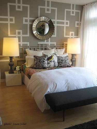 Bedroom accent wall design ideas - Bedroom accent wall ...