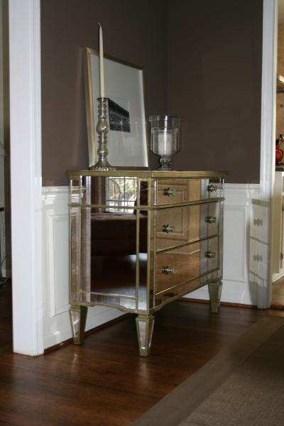 Marvelous Mirrored Buffet