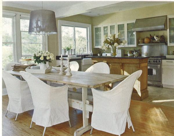gray dining table white chairs design ideas
