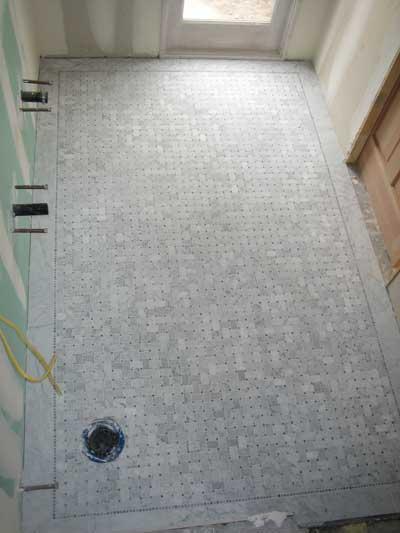 Marble Bathroom Floors