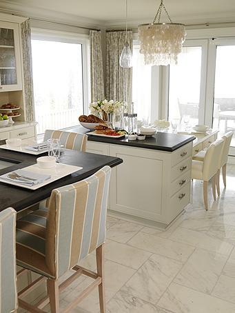 Ivory Kitchen Island Cottage Kitchen Sarah