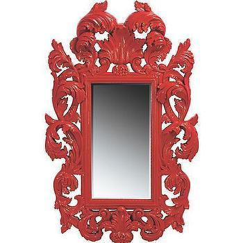 American Signature Furniture, Accents, Botticelli Red Mirror