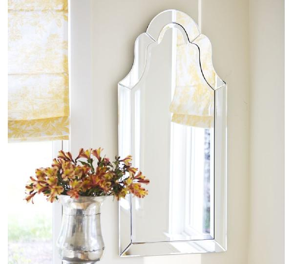 Pottery barn elise mirror look 4 less for Decorative mirrors for less
