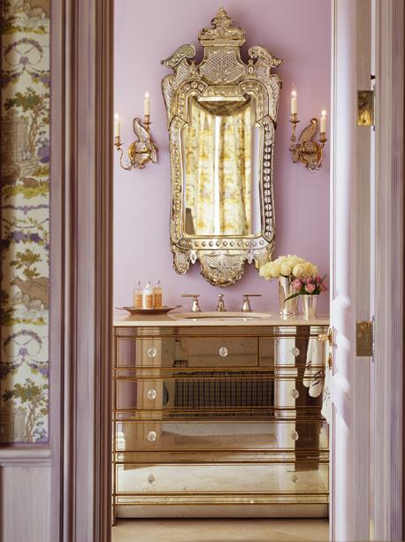 mirrored bathroom vanity design ideas, Bathroom decor