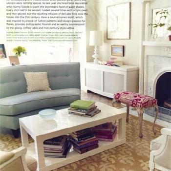 white lacquer coffee table design ideas