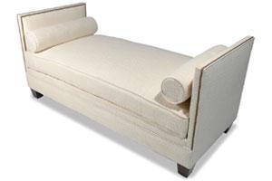 The Sandra Napper Double Chaise Plum Furniture