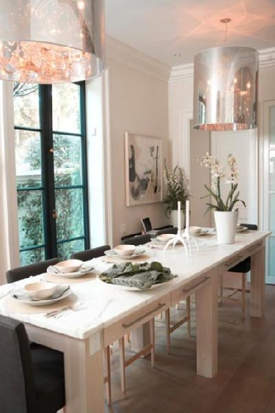 Island Dining Table Contemporary Dining Room House