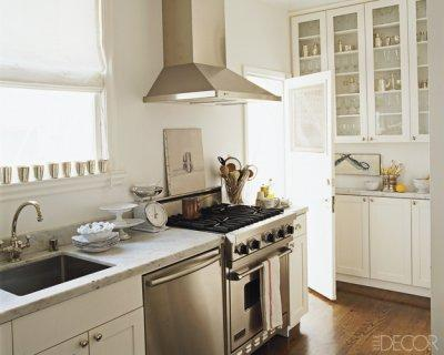 Elle Decor Kitchens elle decor white kitchens Small Kitchen Ideas