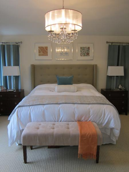 Nate Berkus Headboard Contemporary Bedroom Dunn