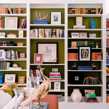 Built In Cabinets, Contemporary, den/library/office, M. Design Interiors