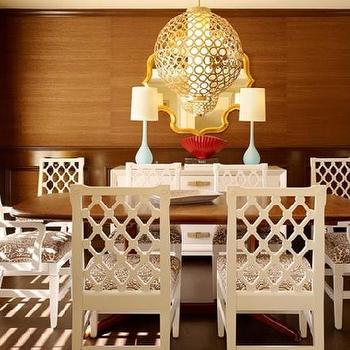 Hollywood Regency Decor, Hollywood Regency, dining room, Palmer Weiss