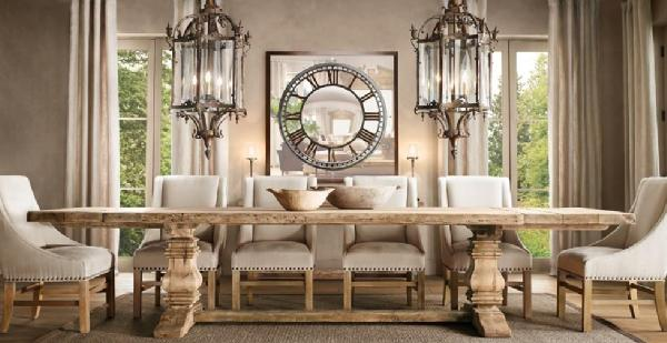 restoration hardware dining room. Black Bedroom Furniture Sets. Home Design Ideas