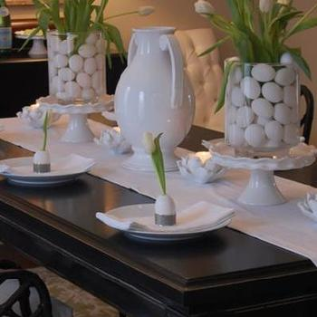 Easter Table Setting Asian Dining Room Benjamin