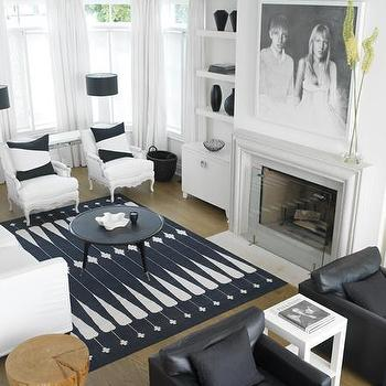 Family Portrair over Fireplace, Contemporary, living room, Benjamin Moore Cloud White, LLoyd Ralphs Design