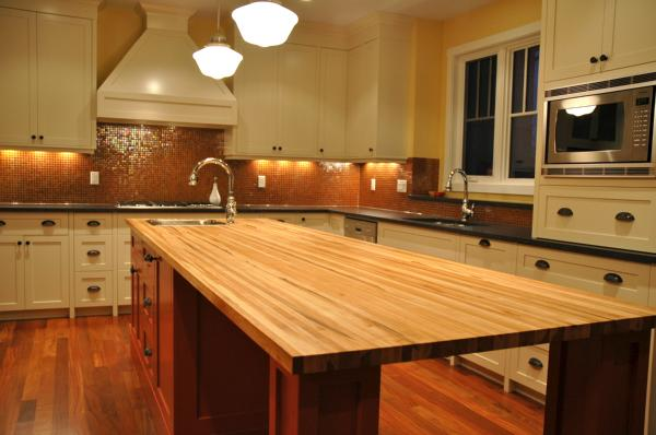 Butcher Block Kitchen Island Design Ideas