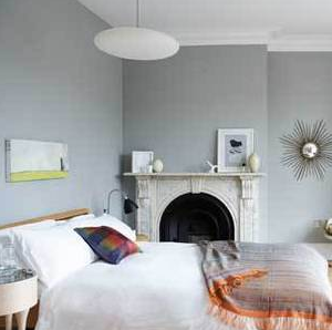 lovely light gray bedroom paint colors | Miscellaneous - Farrow and Ball Lamp Room Gray