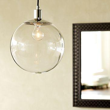 glass globe pendant look 4 less and steals and deals