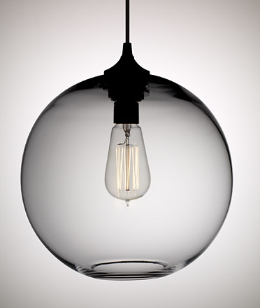 Glass globe pendant l4l glass globe pendant l4l y lighting solitaire pendant view full size aloadofball Gallery