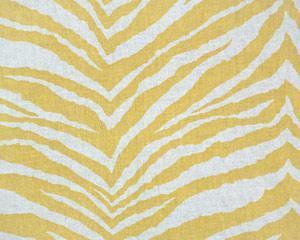Linen Drapery Print Corn Yellow/Linen