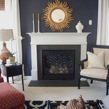Navy Blue Accent Chair Design Ideas