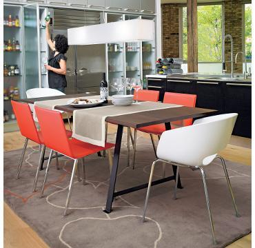 CB Coop Dining Table - Cb2 dining room table