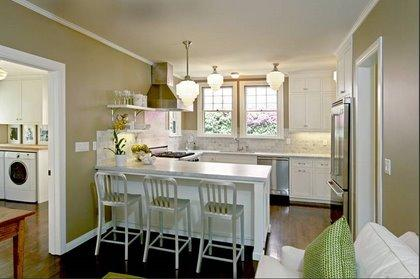 Small Kitchen Ideas Transitional Kitchen Benjamin