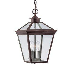 Savoy House 5 14 Ellijay Hanging Outdoor Pendant, English Bronze,  Traditional Outdoor Pendant By Savoy House