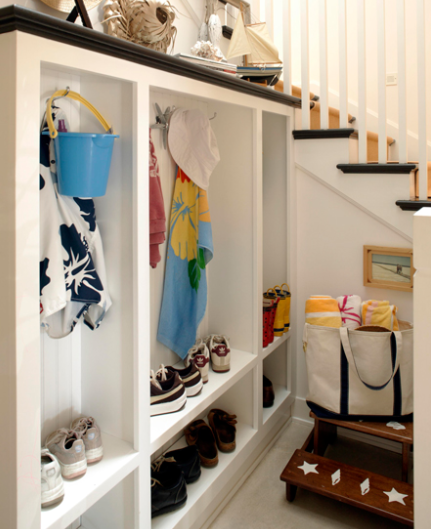 Under The Stairs Mudroom Cottage Laundry Room