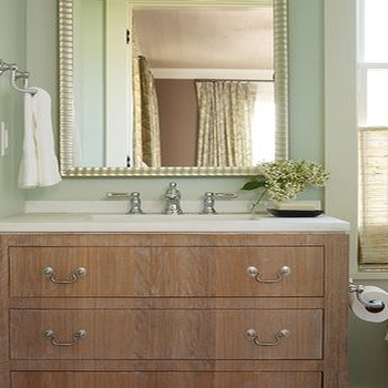 Oak bathroom vanity design ideas - Bathroom paint colors with oak cabinets ...