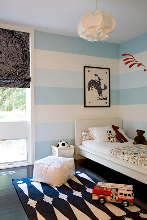Ikea Malm Bed - Contemporary - boy\'s room - Angie Hranowsky