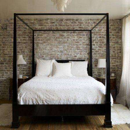 Curtains Ideas black canopy curtains : Black Canopy Bed - Transitional - bedroom