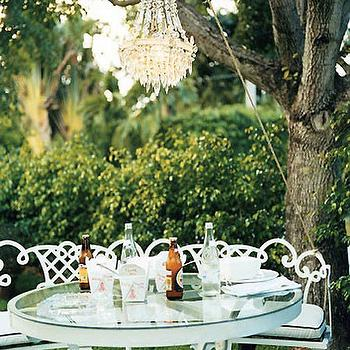 Alfresco Dining, Transitional, garden, Domino Magazine
