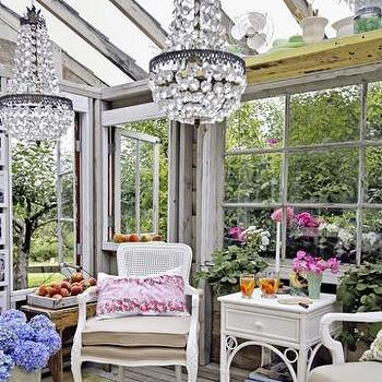 Green House Ideas, Transitional, garden