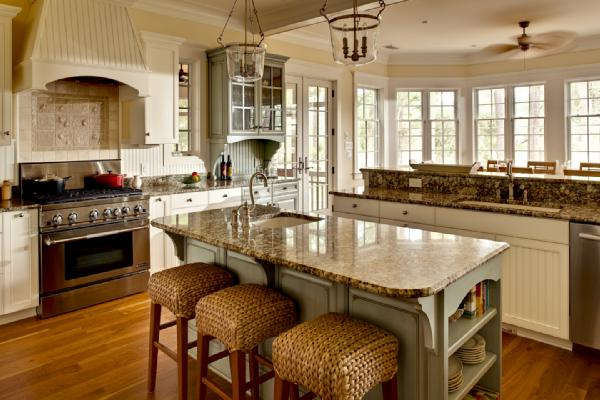 dover white kitchen cabinets seagrass bar stools cottage kitchen sherwin williams 15043