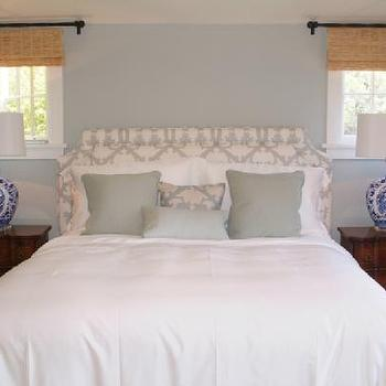 Light Blue Paint Colors, Traditional, bedroom, Farrow & Ball Skylight, C.K. Nyman Interior Design