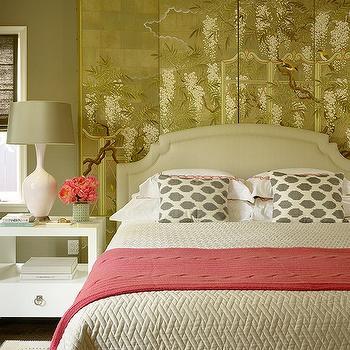 Moroccan Headboard Mediterranean Bedroom