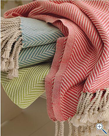 Cotton Herringbone Throw Garnet Hill Adorable Pink Chevron Throw Blanket