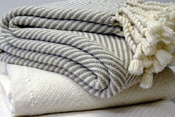 Herringbone Throw White Or Stone THROWS Classy Grey And White Throw Blanket