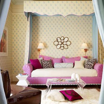 Pink Daybed, Transitional, girl's room, Palmer Weiss