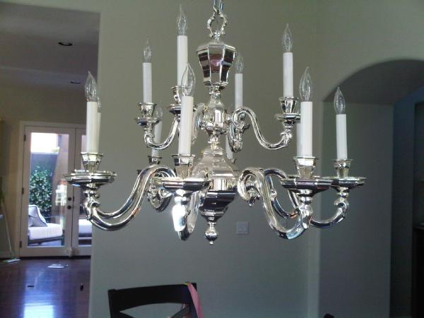 View post chrome chandelier aloadofball Images