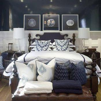 Navy Blue Paint Design Ideas