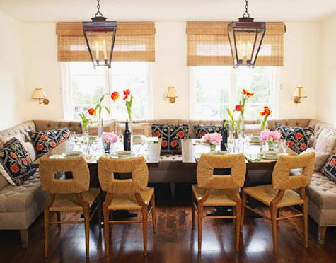 Seagrass Dining Chairs - Eclectic - dining room - Peter Dunham Design