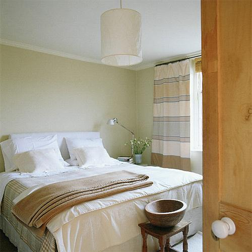 Transitional bedroom farrow and ball lime white - Farrow and ball decoration ...