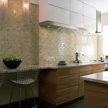 Walker Zanger Cracked Ceramic Subway Tiles Design Ideas
