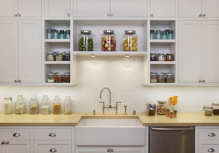 Subway Tiles Backsplash - Transitional - kitchen - Artistic ...