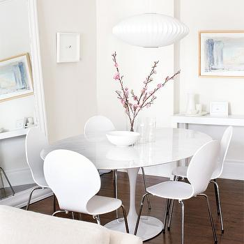 Saarinen Oval Dining table, Contemporary, dining room, Style at Home