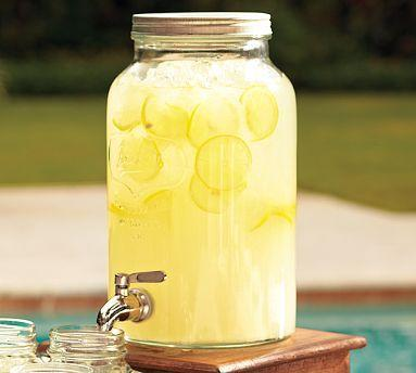 Mason Jar Drink Dispenser Pottery Barn