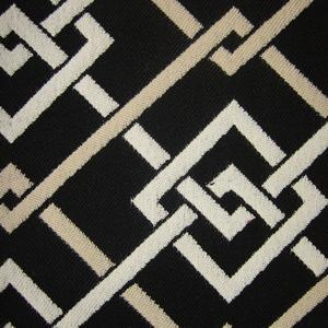 Fretwork Zebra Fabric, Designer Fabric Studio