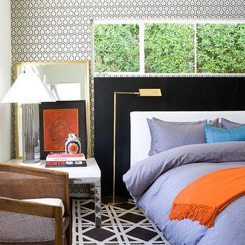 Graden Lattice Rug, Contemporary, bedroom, David Jimenez