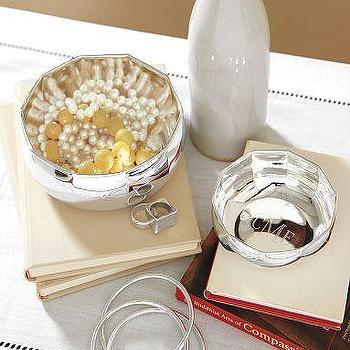 Silver-Plated Nesting Bowls, Pottery Barn